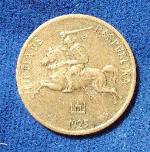 1925 Lithuania Centas VF+