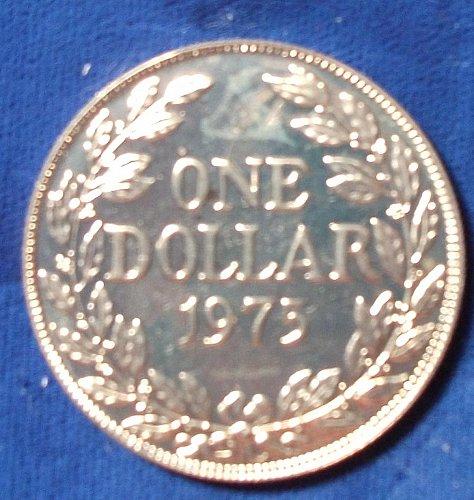 1974, 75 Liberia Dollars Proof