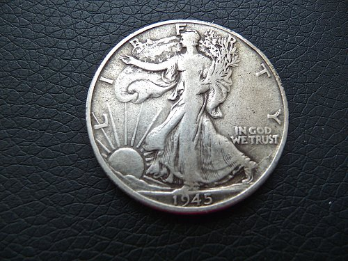 1945-D Walking Liberty Half Dollar