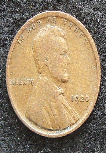 1920 P Lincoln Wheat Cent (F-12)