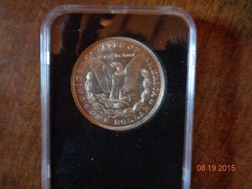 1921p MORGAN SILVER DOLLAR