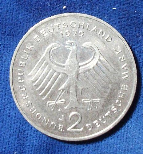 1979J Germany/Federal Republic 2 Mark UNC
