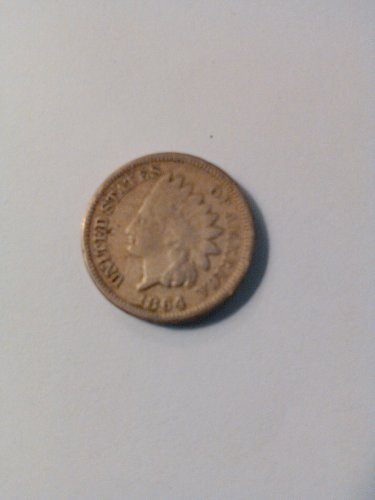 1864 CN INDIAN HEAD CENT