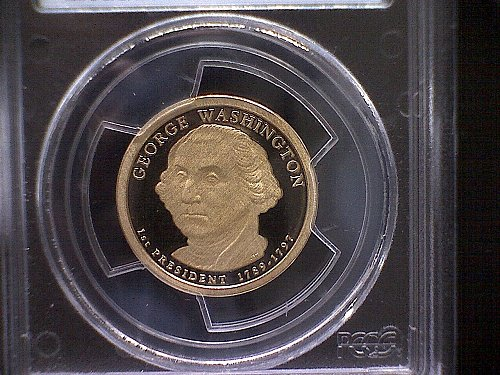 2007-S PRESIDENTIAL DOLLAR GEORGE WASHINGTON