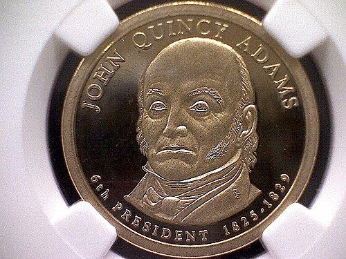 2008-S PRESIDENTIAL DOLLAR JOHN QUINCY ADAMS DOLLAR