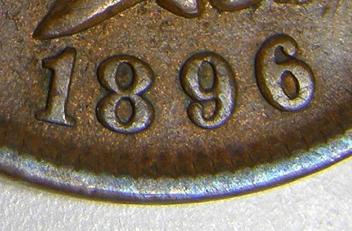 1896 Indian Head Cent #11 SNOW6 6/6 East