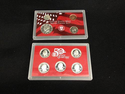 1999-S 9 Piece Silver Proof Set