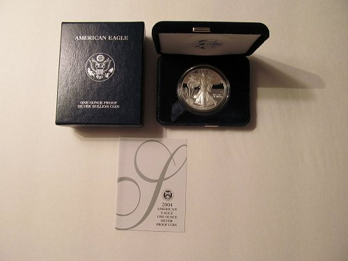 2004 W Proof Silver American Eagle