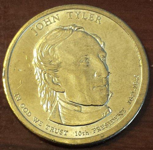 2009-P John Tyler Presidential Dollar (5909)