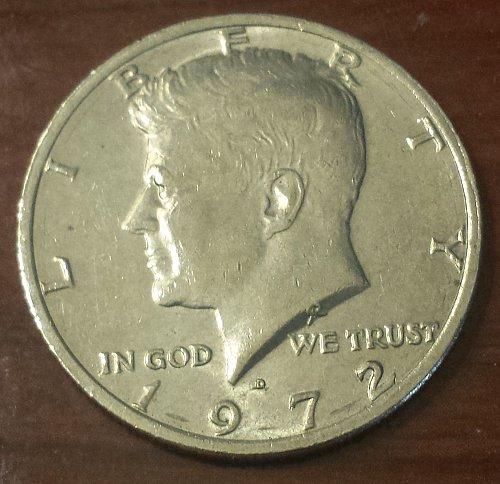 1972-D Kennedy Half Dollar (5911)