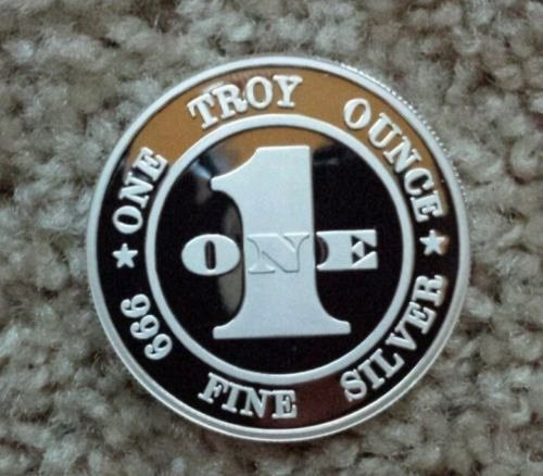 1 TROY OZ. .999 PURE SILVER MARILYN MONROE COIN *PLAYBOY POSE* ENCASED PROOF