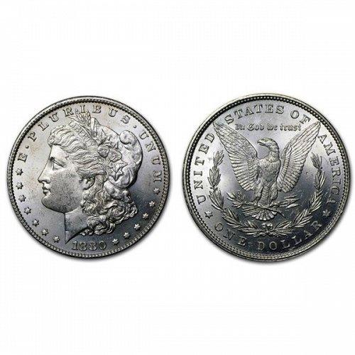 1880 Morgan Silver Dollar - BU