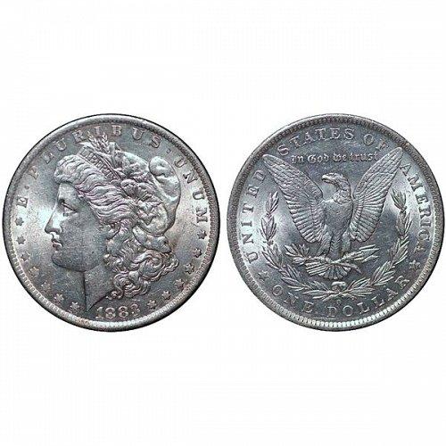 1883 O Morgan Silver Dollar - AU