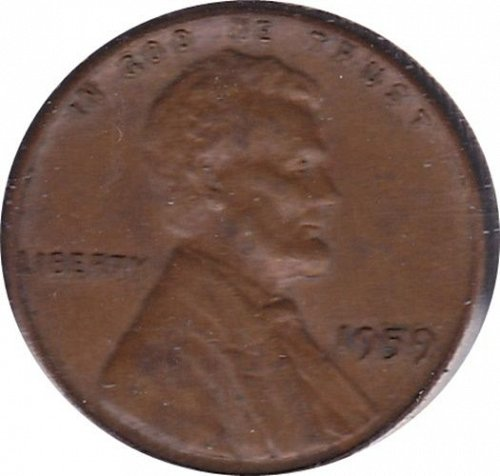 1959 P Lincoln Memorial Cent - FREE SHIPPING
