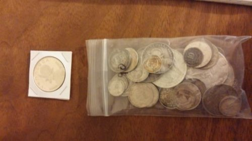 Lot of 42 Foreign Silver Coins - Mixed Lot all 90% silver