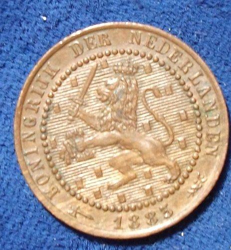 1883 Netherlands Cent AU