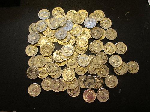 88 Washingon Quarters   58 quarters 1940 to 1949 and 30 quarters 1950 to 1964, a