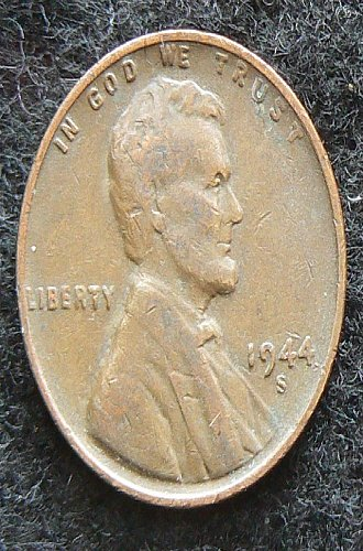 1944 S Lincoln Wheat Cent (VG-8)