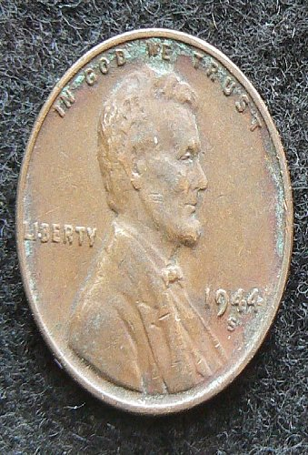 1944 S Lincoln Wheat Cent (F-12)