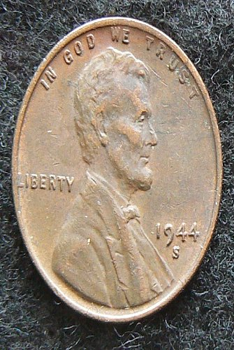 1944 S Lincoln Wheat Cent (EF-40)
