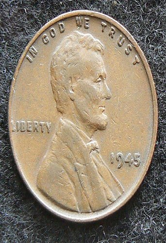 1945 P Lincoln Wheat Cent (VF-30)