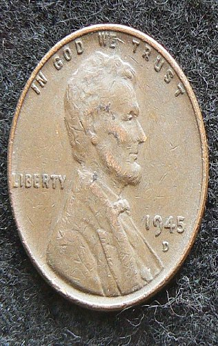 1945 D Lincoln Wheat Cent (VF-30)