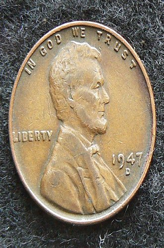 1947 D Lincoln Wheat Cent (VF-20)