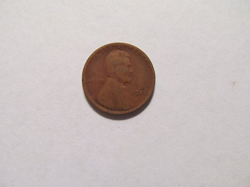 1923 S Lincoln cent