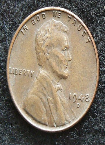 1948 D Lincoln Wheat Cent (VF-30)