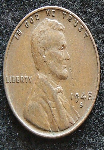 1948 S Lincoln Wheat Cent (VF-35)