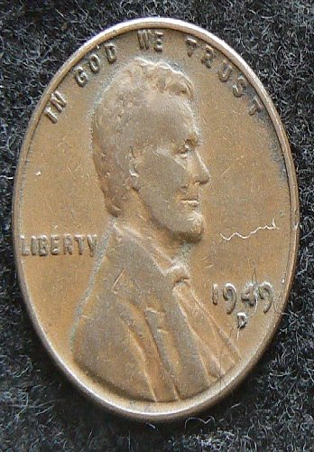 1949 D Lincoln Wheat Cent (F-12)
