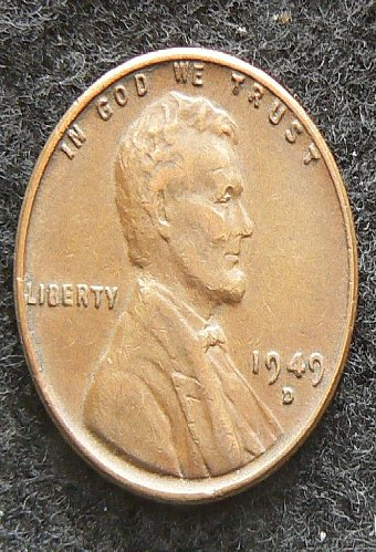 1949 D Lincoln Wheat Cent (VF-35)