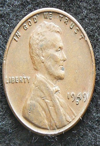 1949 D Lincoln Wheat Cent (EF-40)
