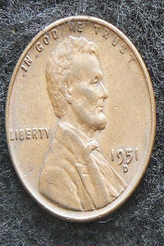 1951 D Lincoln Wheat Cent (VF-35)