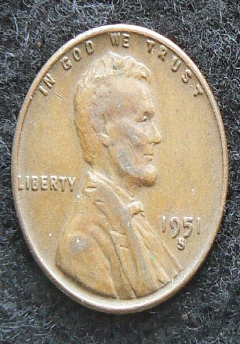 1951 S Lincoln Wheat Cent (VF-20)