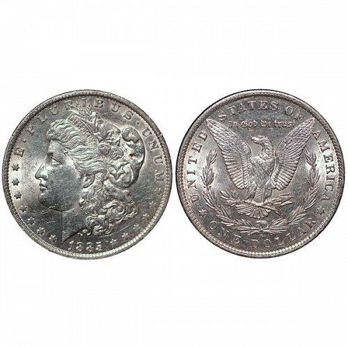 1885 O Morgan Silver Dollar - AU