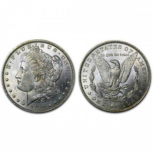 1885 O Morgan Silver Dollar - BU