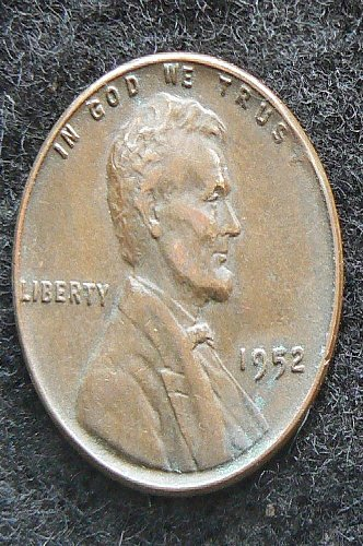 1952 P Lincoln Wheat Cent (VF-30)