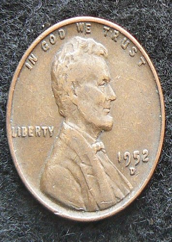1952 D Lincoln Wheat Cent (F-12)