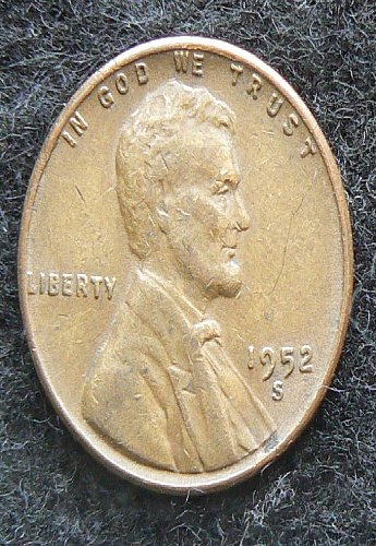 1952 S Lincoln Wheat Cent (VF-20)