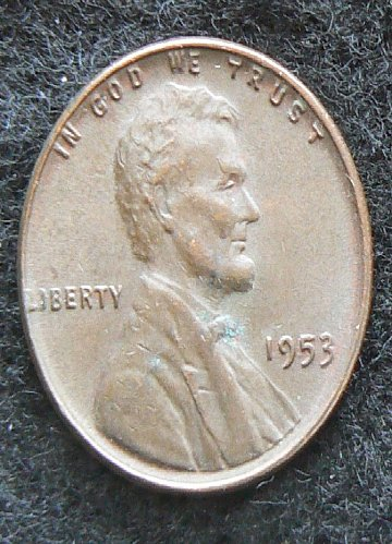 1953 P Lincoln Wheat Cent (EF-40)
