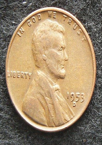 1953 D Lincoln Wheat Cent (F-12)