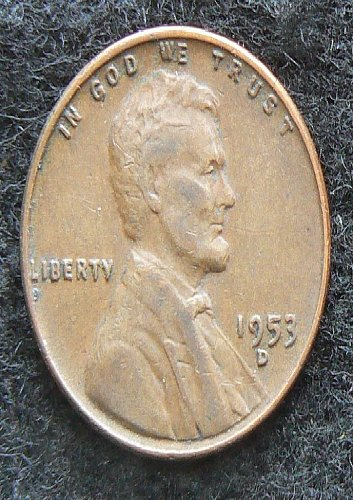 1953 D Lincoln Wheat Cent (VF-20)