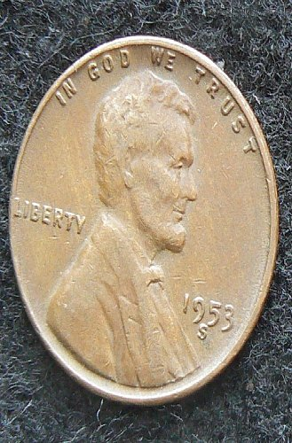 1953 S Lincoln Wheat Cent (VG-8)