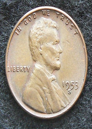 1953 S Lincoln Wheat Cent (VF-35)