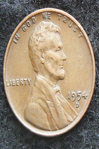 1954 D Lincoln Wheat Cent (VF-30)