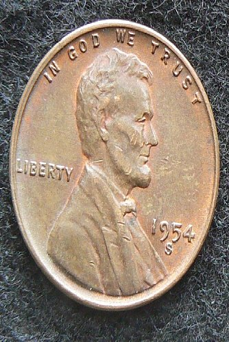 1954 S Lincoln Wheat Cent (EF-40)