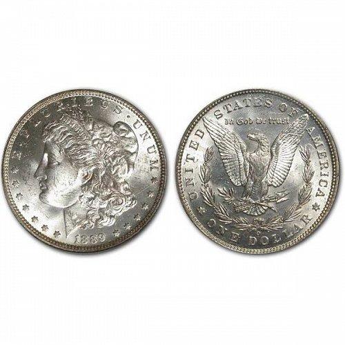 1889 O Morgan Silver Dollar - BU