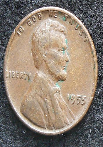 1955 P Lincoln Wheat Cent (VG-8)