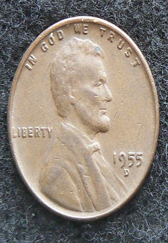 1955 D Lincoln Wheat Cent (VF-20)
